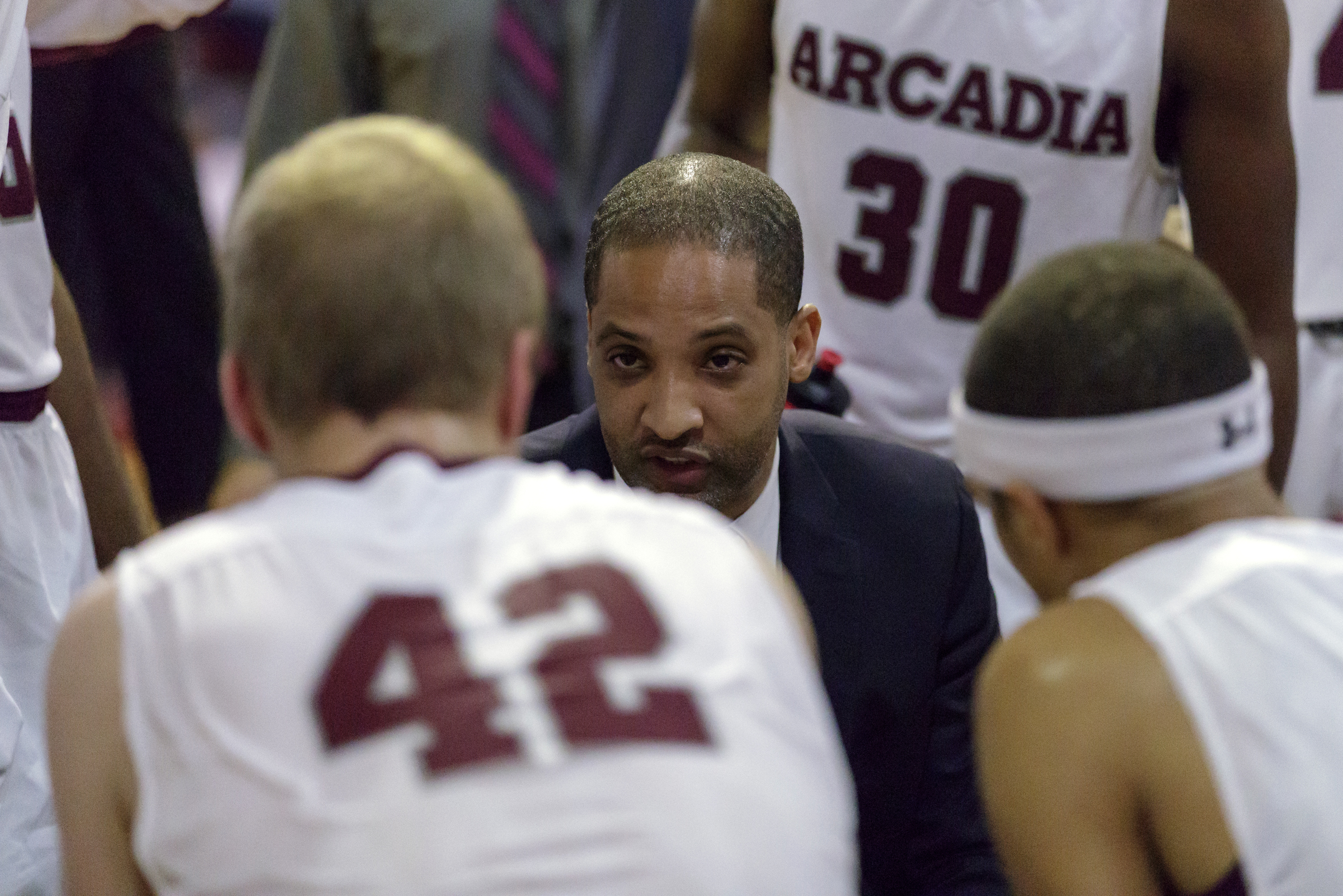 Justin Scott has been head coach at Arcadia since 2012-13.