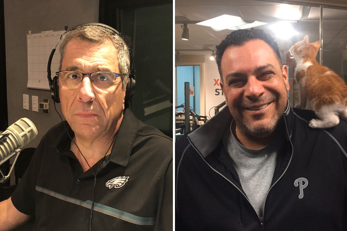 The days of WIP´s Angelo Cataldi (left) being seriously challenged by The Fanatic´s Angelo Gargano (right) seem like a distant memory.
