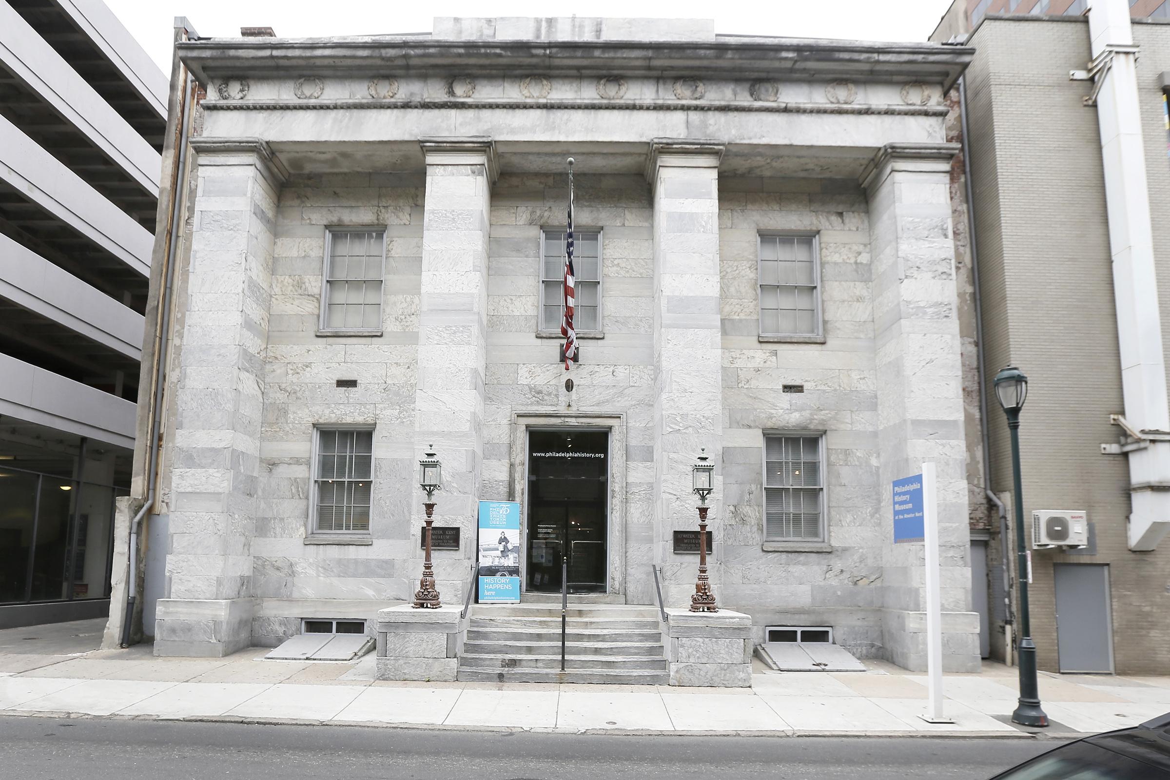 The Philadelphia History Museum.