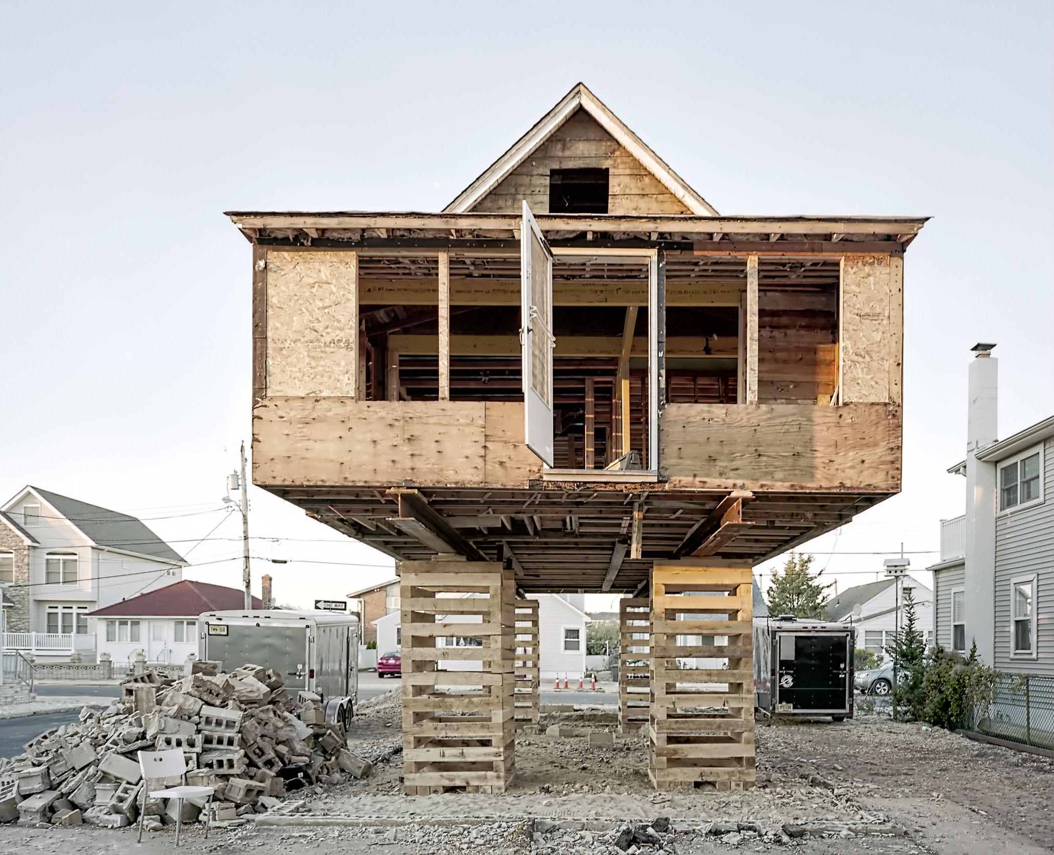 "Brick Township, N.J. From Ira Wagner´s ""Houseraising."""