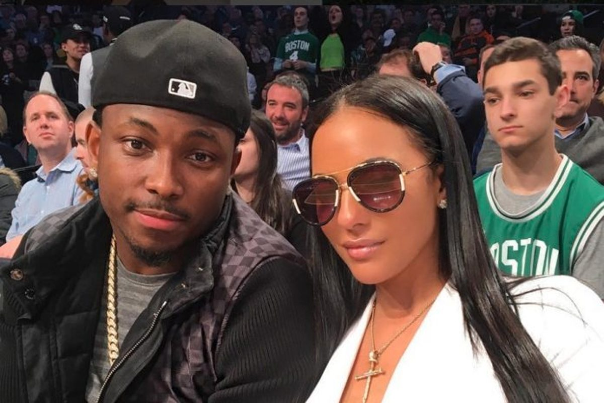 Buffalo Bills running back LeSean McCoy, seen here with then-girlfriend Delicia Cordon. Cordon was allegedly assaulted and robbed at McCoy's suburban Atlanta home Tuesday morning.