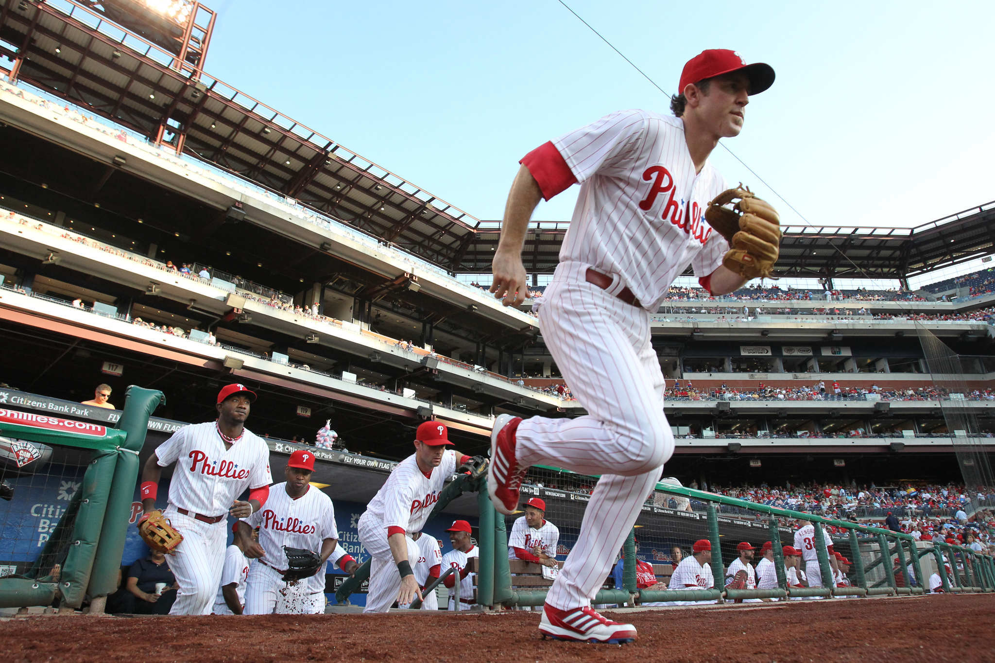 Chase Utley in 2013.