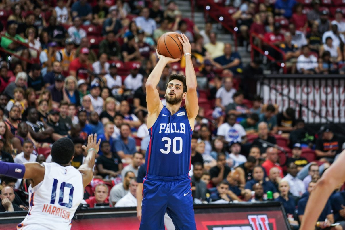 Furkan Korkmaz had yet another solid summer league showing on Saturday.