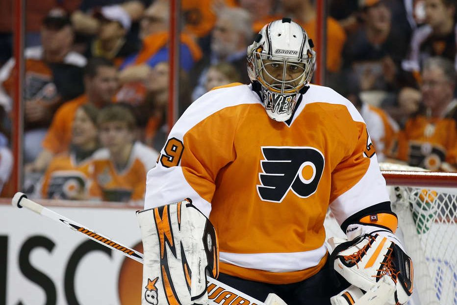 Ray Emery had two stints with the Flyers, the first in the 2009-10 season and the second in 2013.