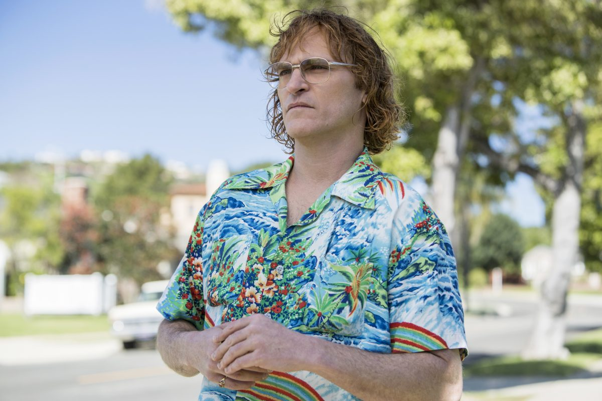 Joaquin Phoenix in a scene from 'Don't Worry, He Won't Get Far On Foot.