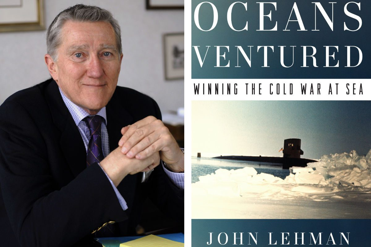 "John Lehman, author of ""Oceans Ventured."""