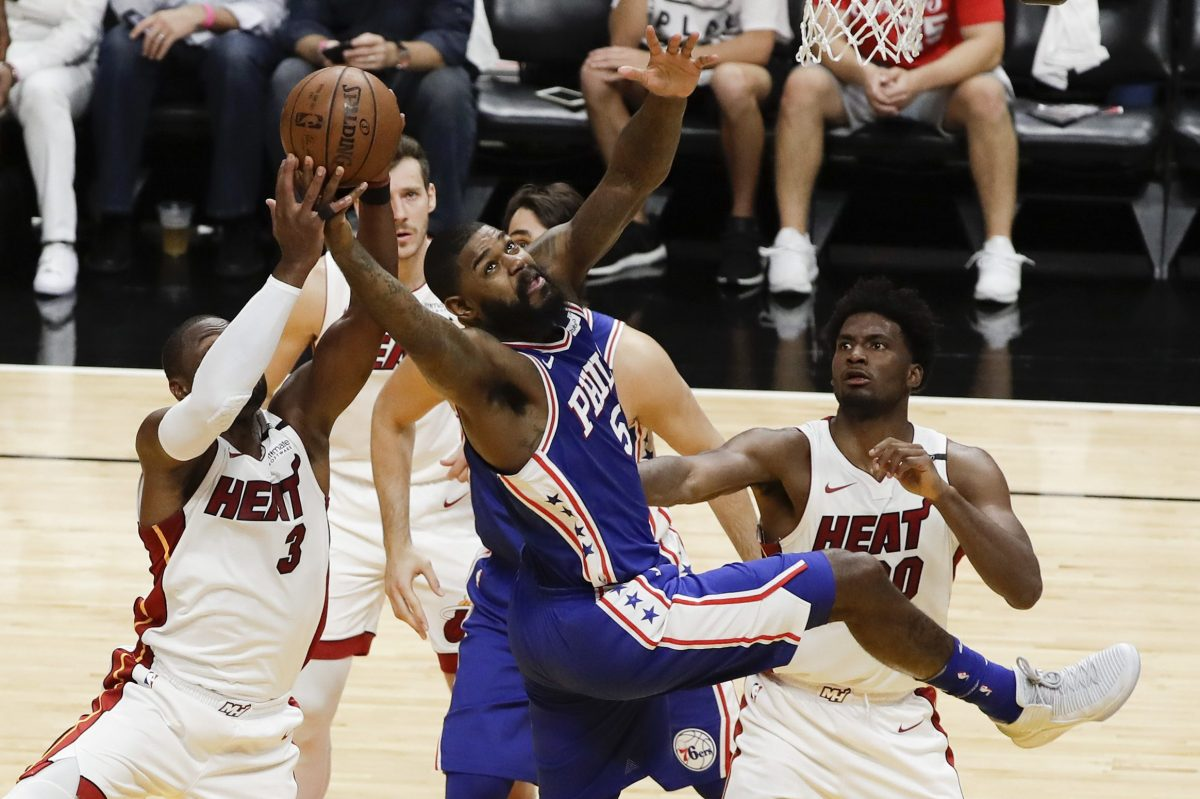 Amir Johnson agreed to a one-year deal in July 2017 to back up Joel Embiid and provide a veteran presence to a young Sixers roster.