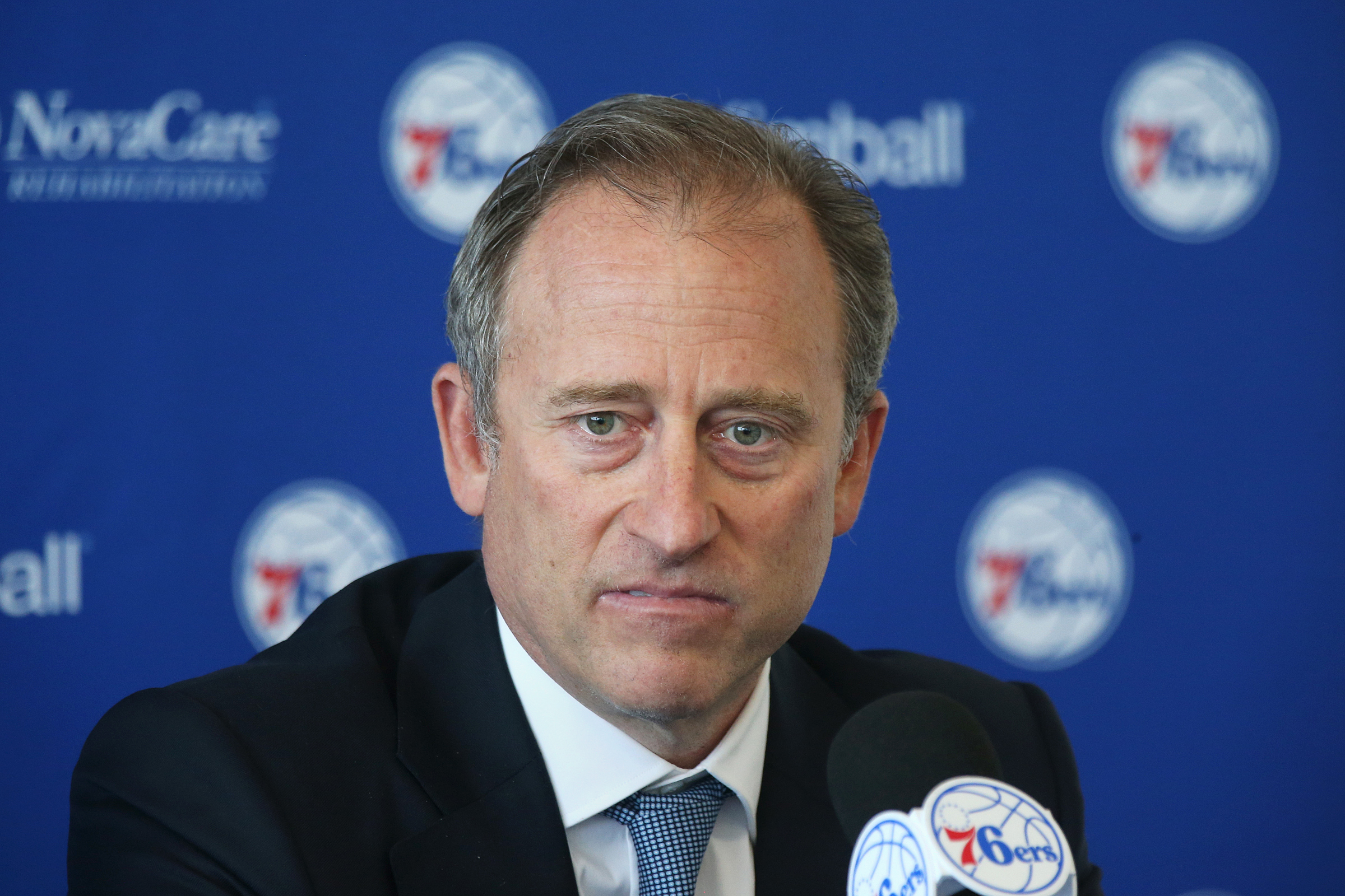 Sixers majority owner Josh Harris is swinging for the fences in the team´s GM search.