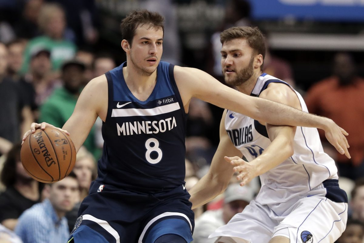 Nemanja Bjelica (8) won't become a Sixer, after all.