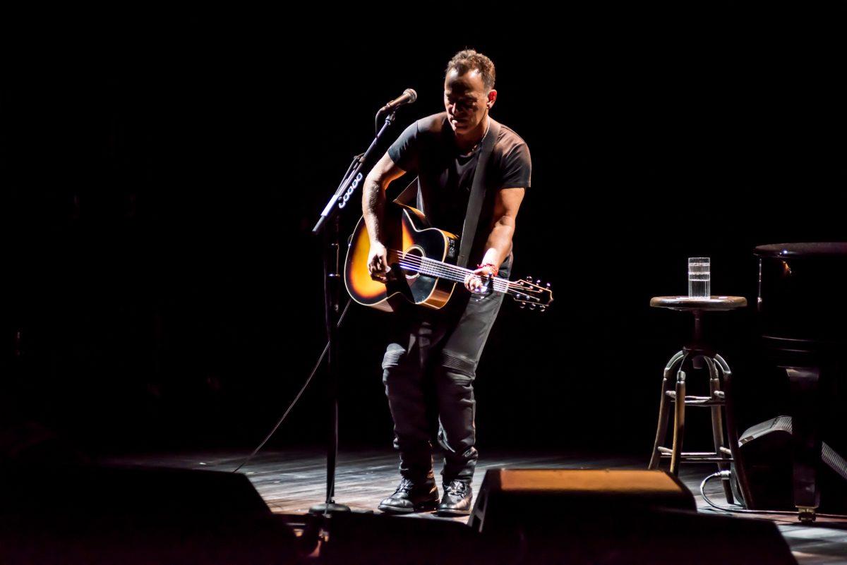 "Bruce Springsteen in ""Springsteen on Broadway"""