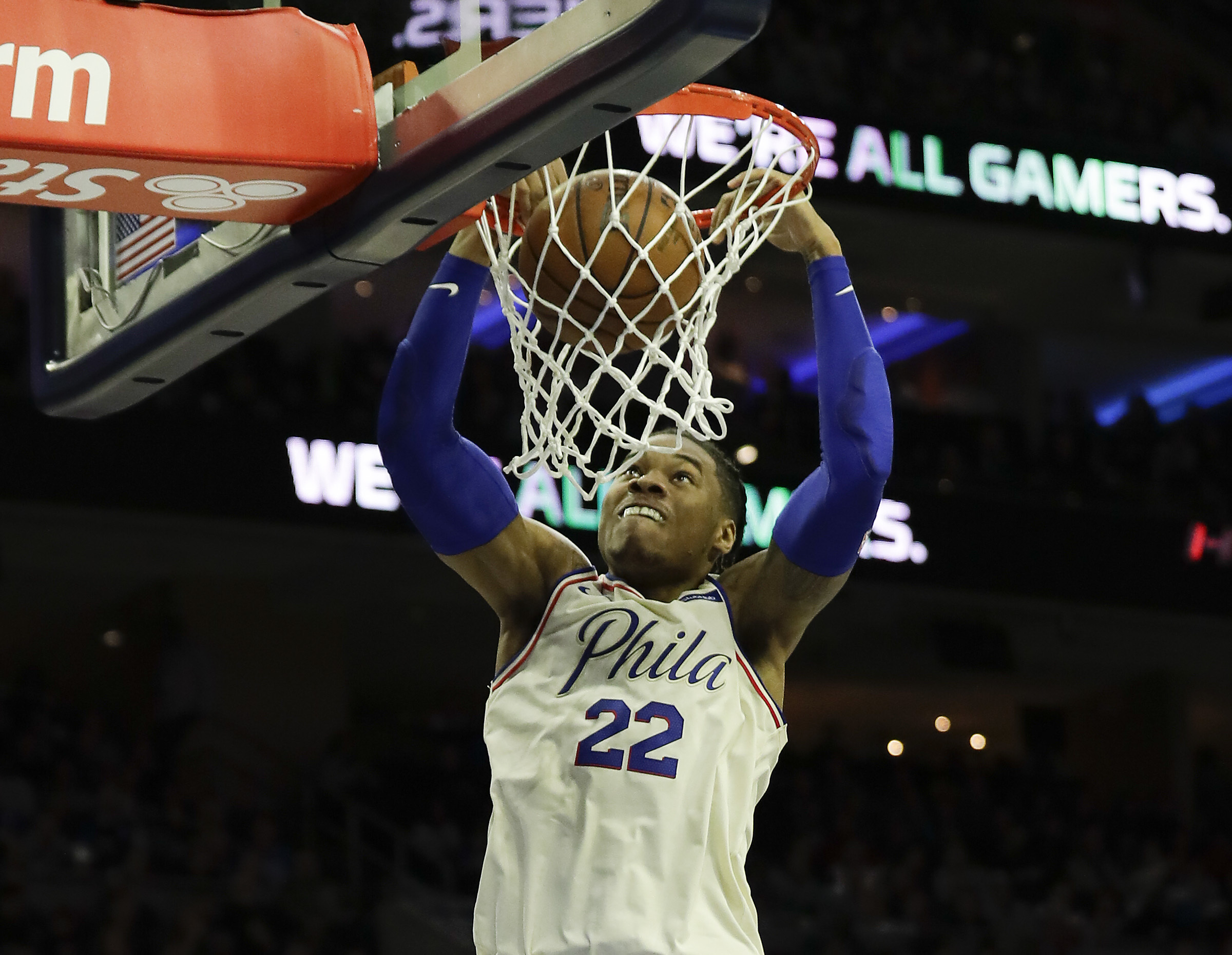 The Sixers traded Richaun Holmes to Phoenix on Friday.