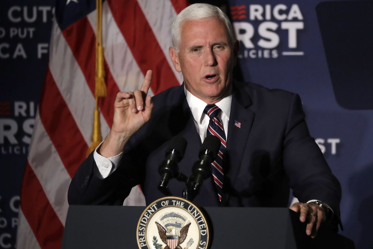Vice President Mike Pence is due to visit Philadelphia Monday to promote President Trump's tax cuts and Lou Barletta, a Republican candidate for U.S. Senate. Barletta is running against Sen. Bob Casey (D., Pa.).