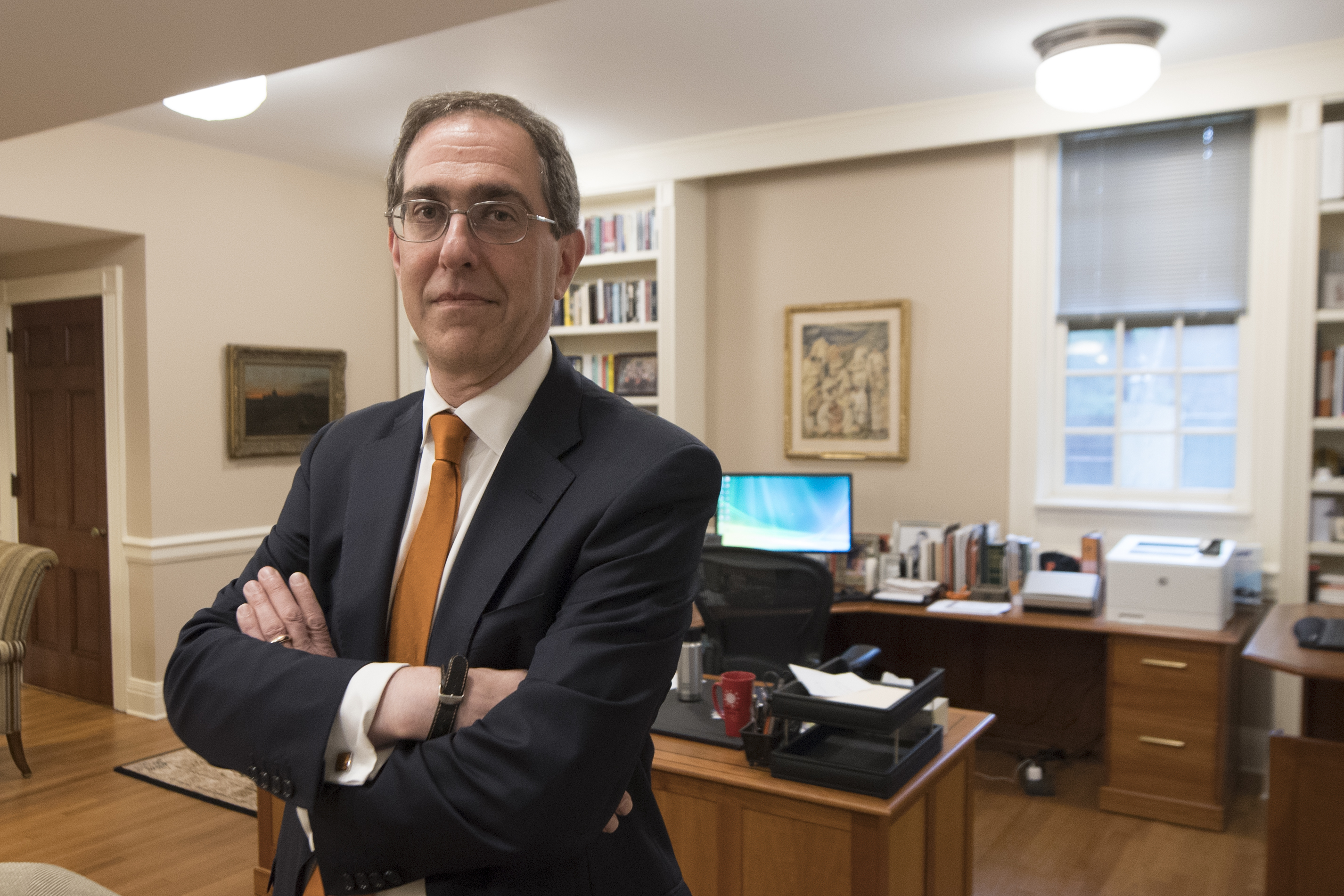 Princeton President Christopher L. Eisgruber talks about the university´s efforts to become more inclusive.