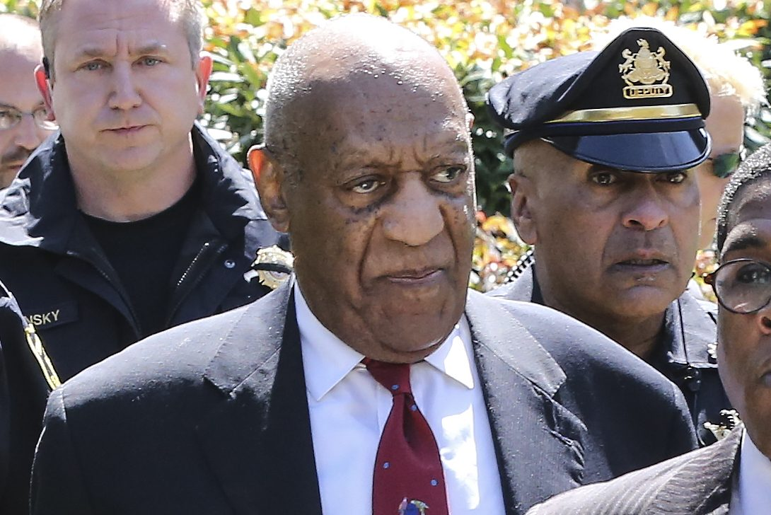 Bill Cosby leaves courthouse