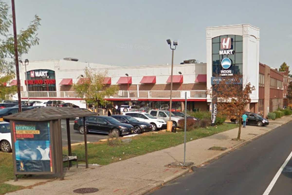 H-Mart on Old York Rd in Elkins Park was cited for 30 violations on June 28, 2017. IMAGE: GOOGLEMAPS