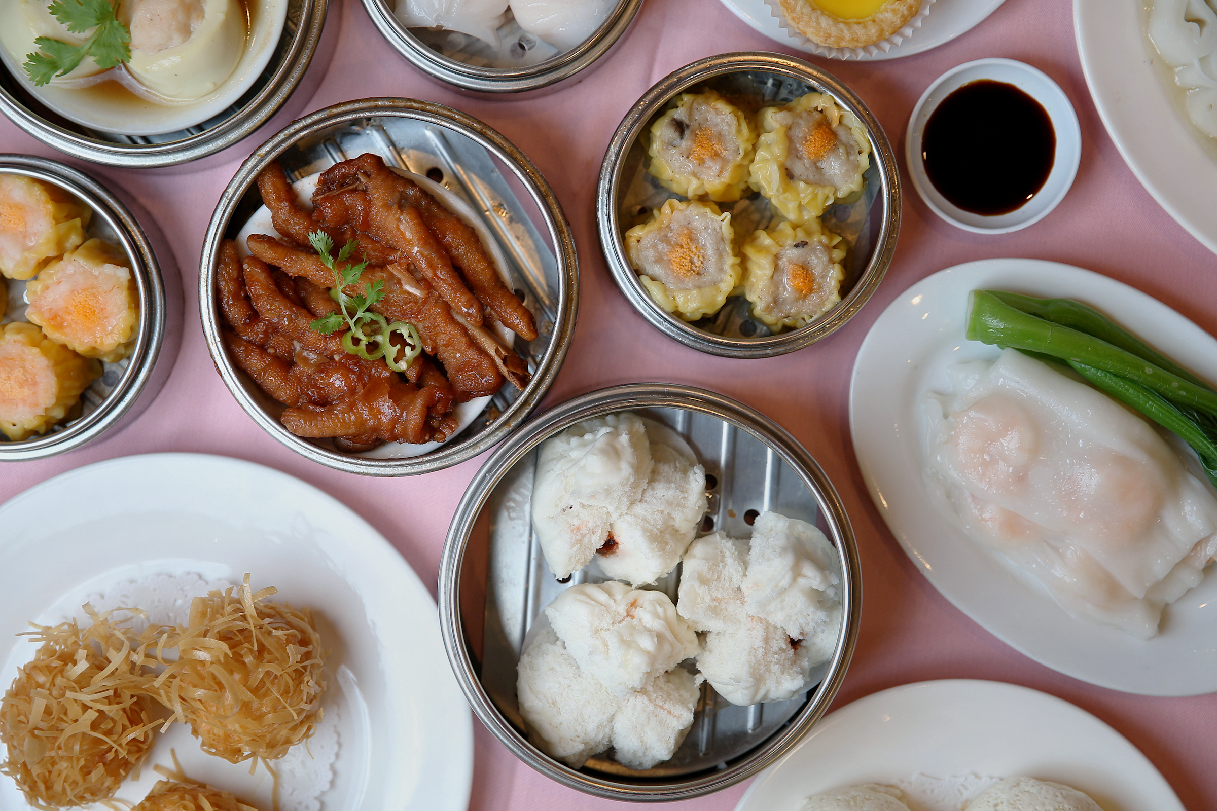 Dim sum dishes are the day time draw to China Gourmet in Northeast Philadelphia.