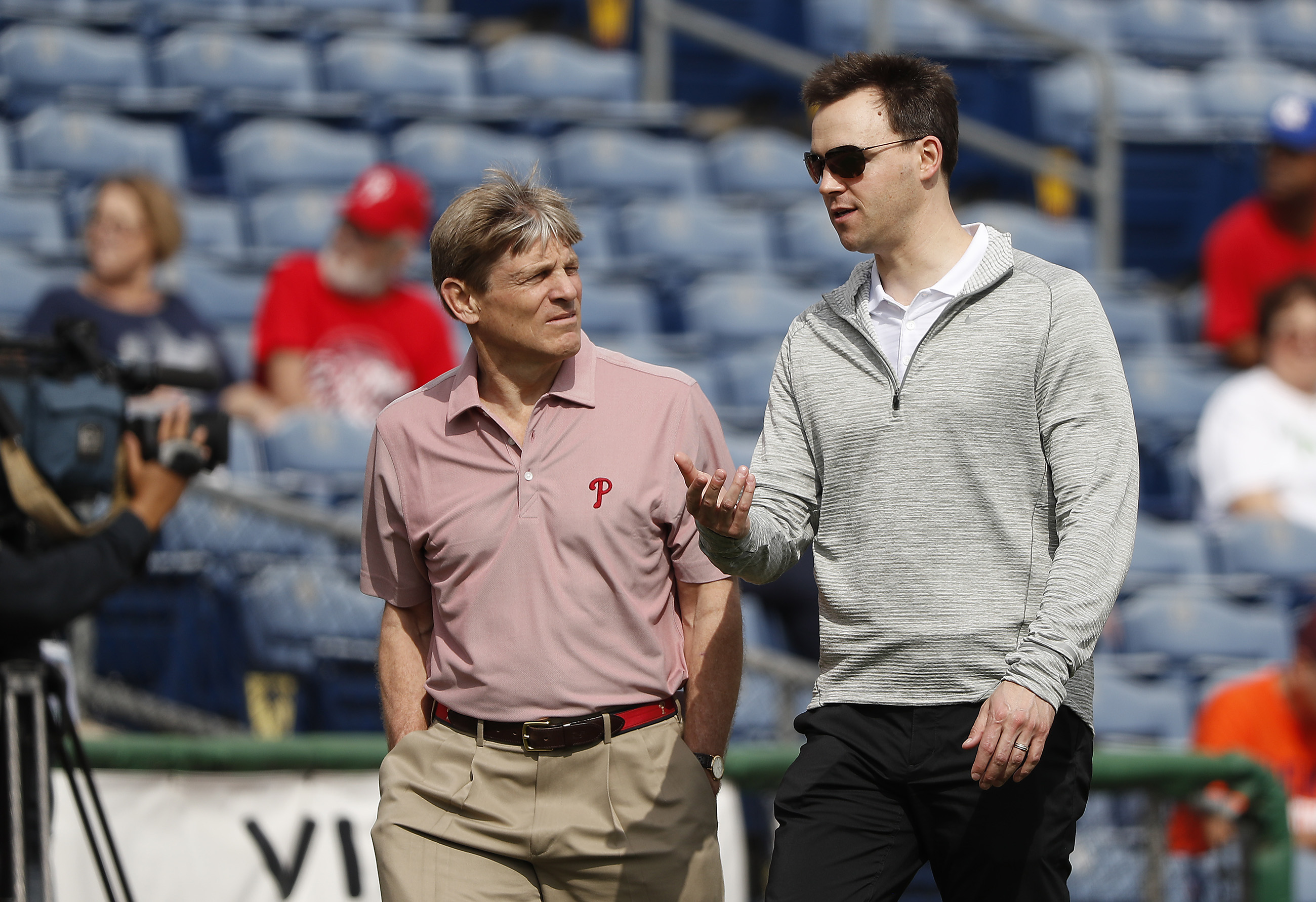 Phillies owner John Middleton and general manager Matt Klentak are appearing set to spend big this winter, but teams like the Dodgers and Yankees will have the funds to compete with them.