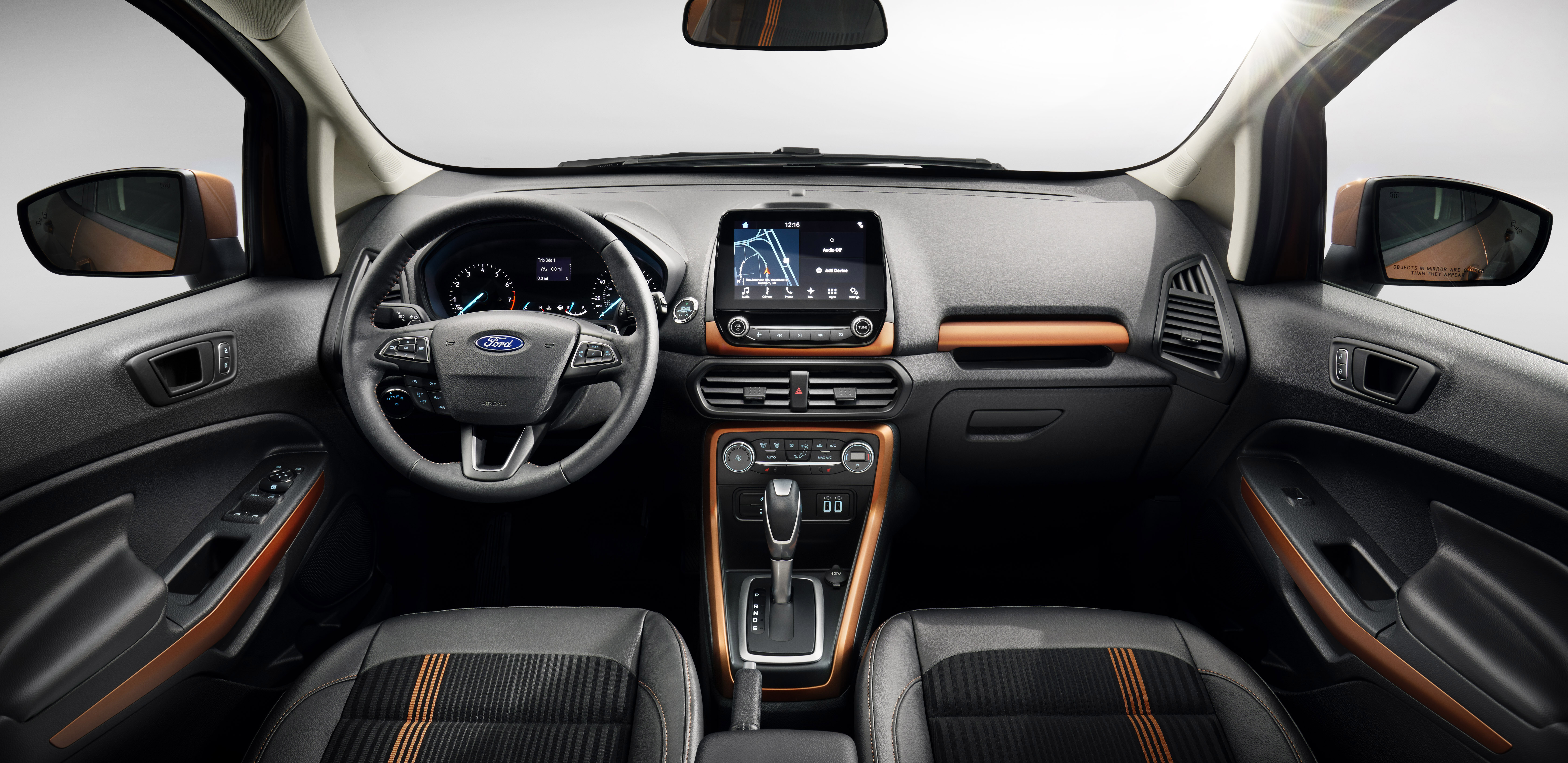 Spring for the upgraded in the EcoSport and you'll enjoy nice accommodations, with a comfortable seat and easy-to-operate stereo.