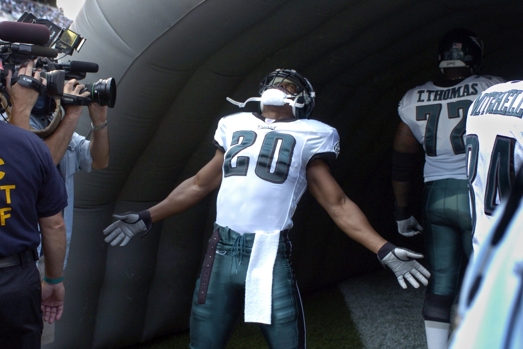 Brian Dawkins is entering the Pro Football Hall of Fame.