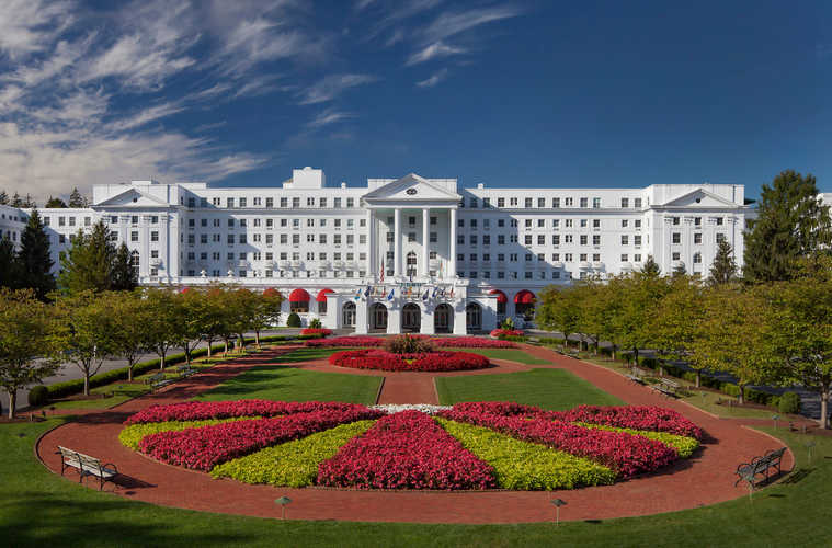 The exterior of Greenbrier.