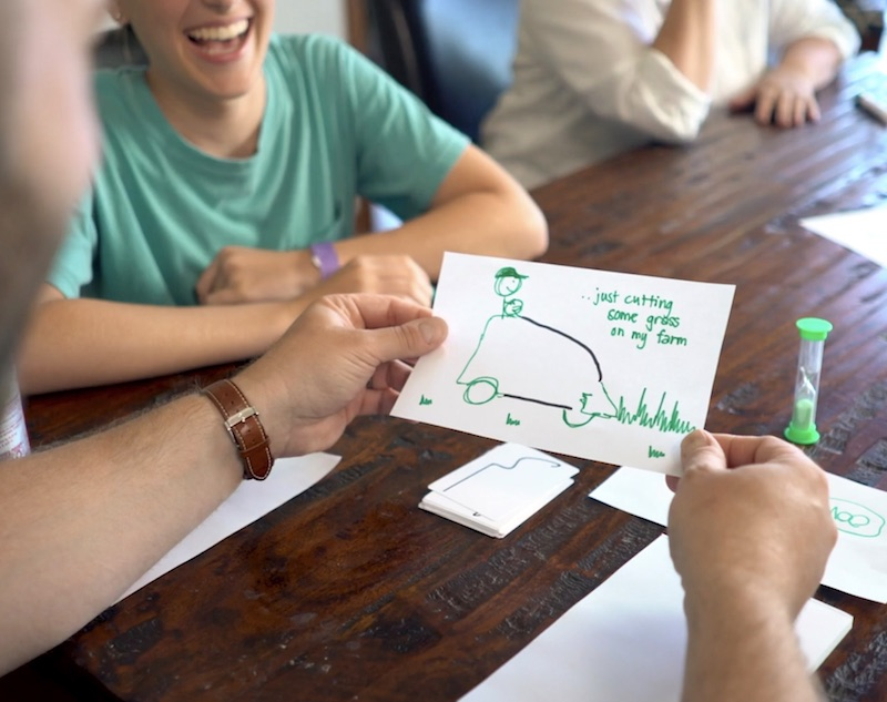 """Adam and Meghan Owenz, of Wyomissing, developed Starting Lines, a board game meant to address the """"Creativity Crisis."""""""