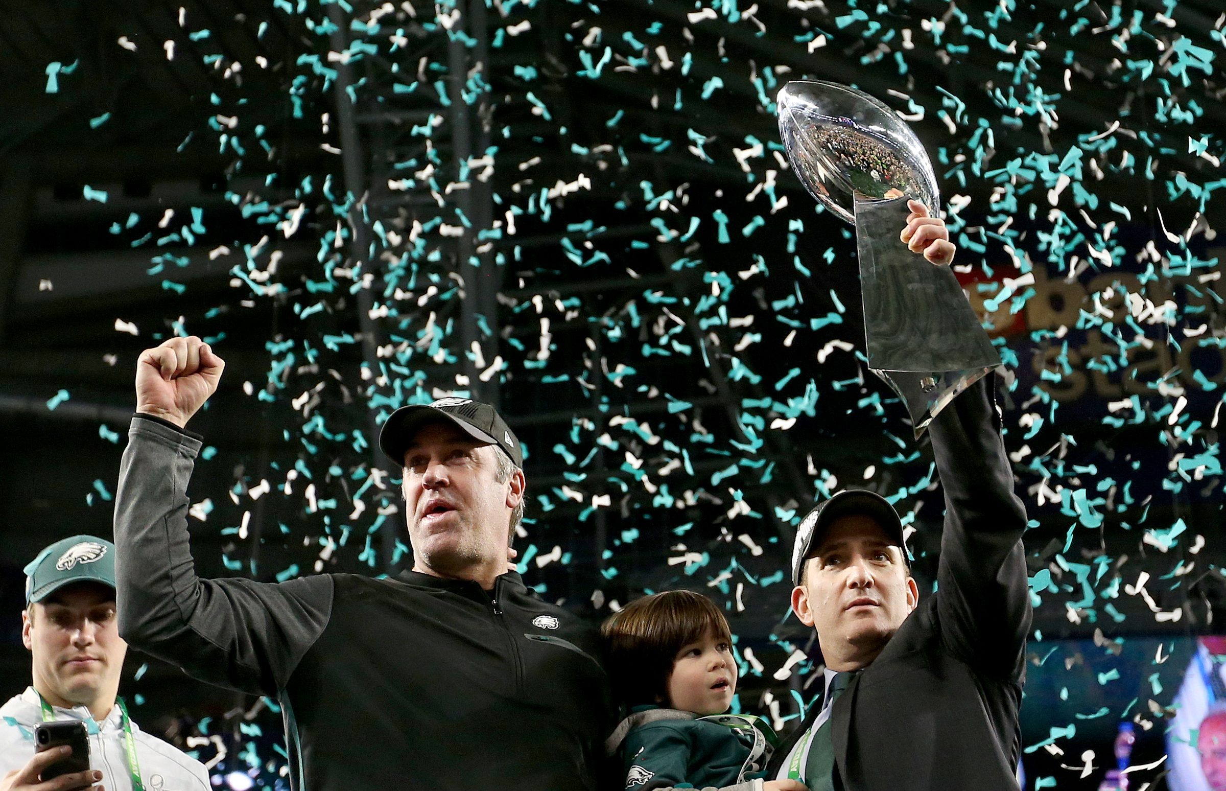 It´s a heavy trophy, and the Eagles paid a heavy price in the 2018 draft.