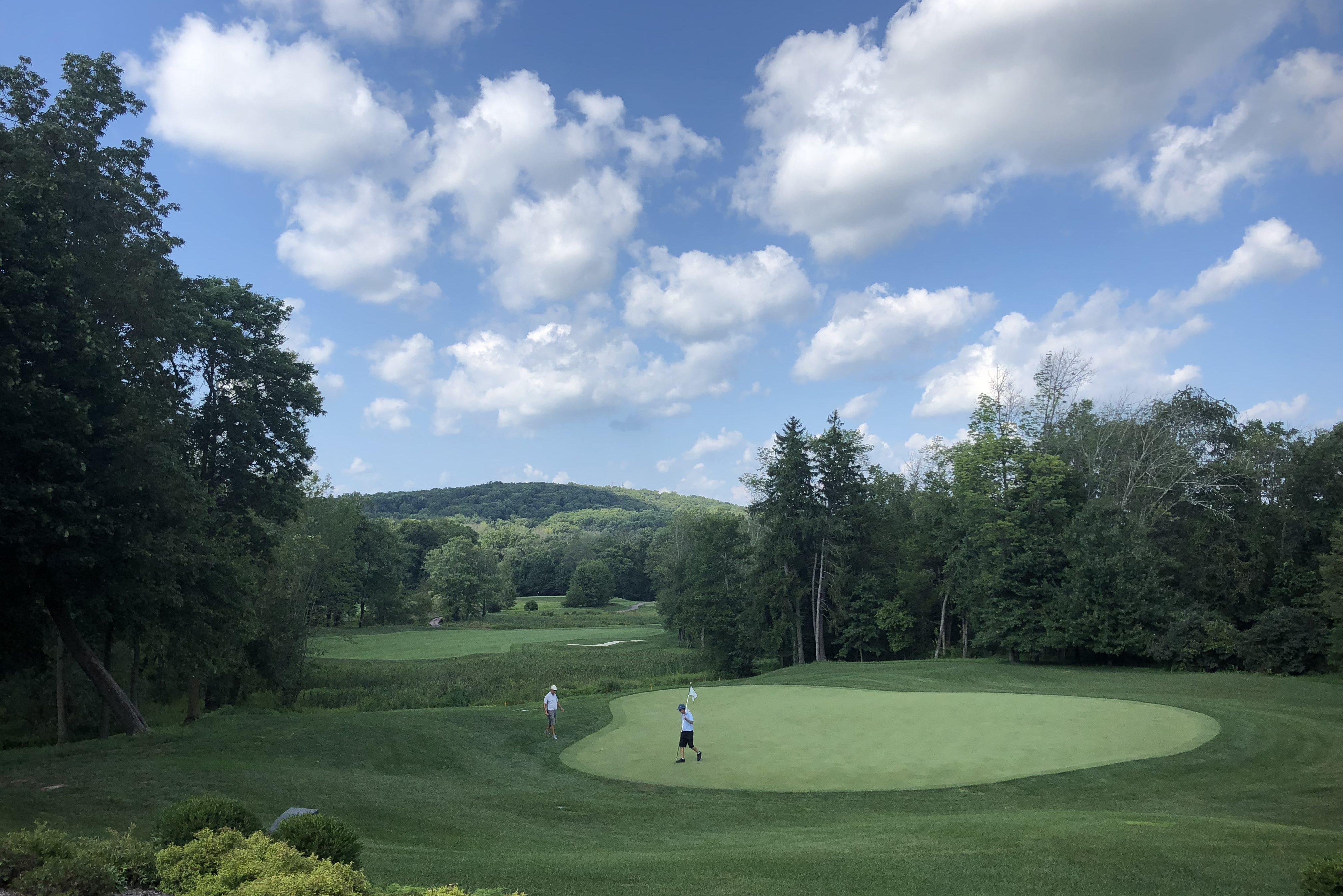 Players at the Lookaway Golf Club in Buckingham.