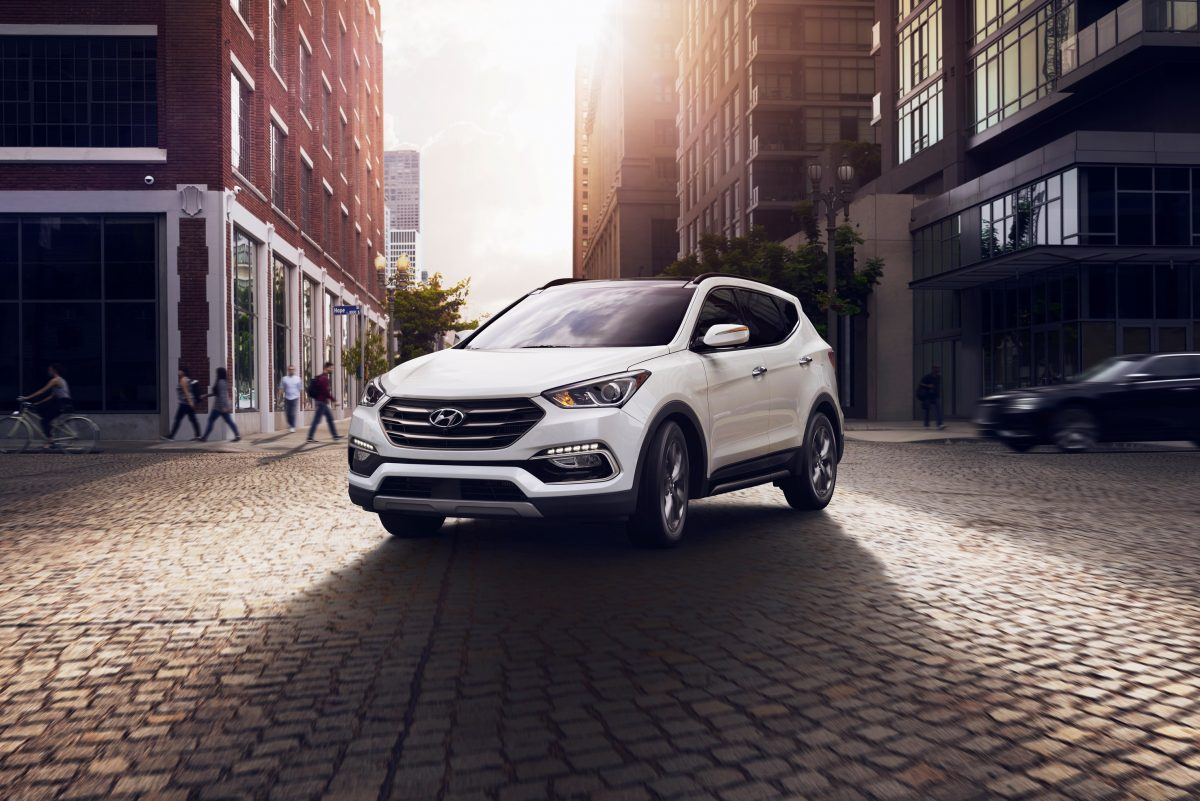 The 2018 Hyundai Santa Fe Sport carries over from the last several years, and is headed for a new design for 2019.