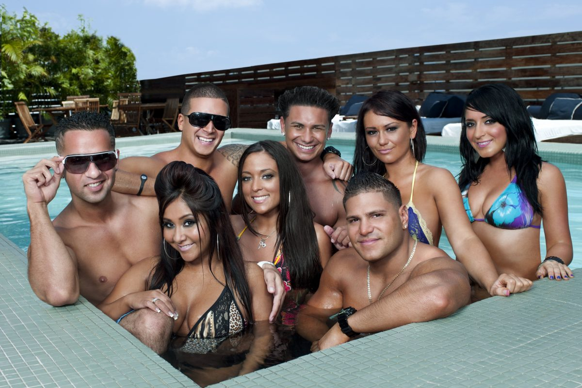 The cast of the'Jersey Shore,' which aired on MTV from 2009 to 2012.
