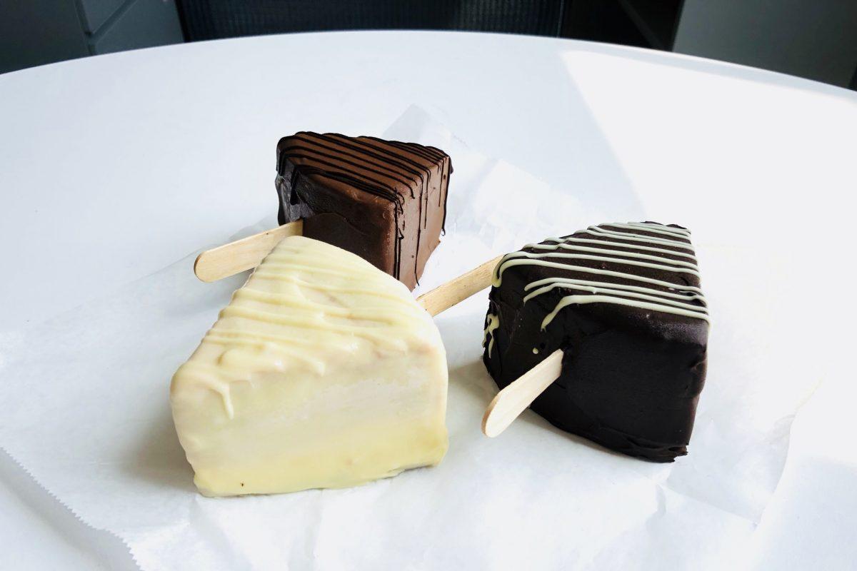 FroChoChe (frozen chocolate cheesecake) from Sweet Jazmines in Berwyn.
