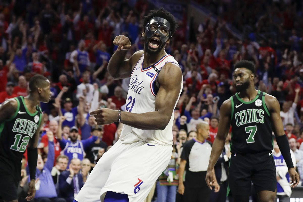 Joel Embiid and the Philadelphia 76ers will be featured on national television 39 games in the 2018-19 NBA season.