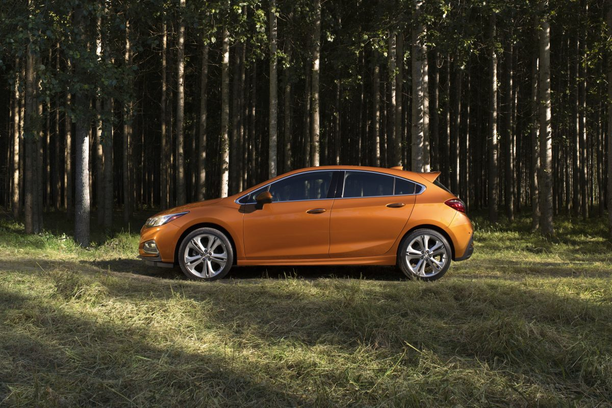 The Cruze is Chevrolet's top-selling model overseas and doesn't do badly in the U.S. either.