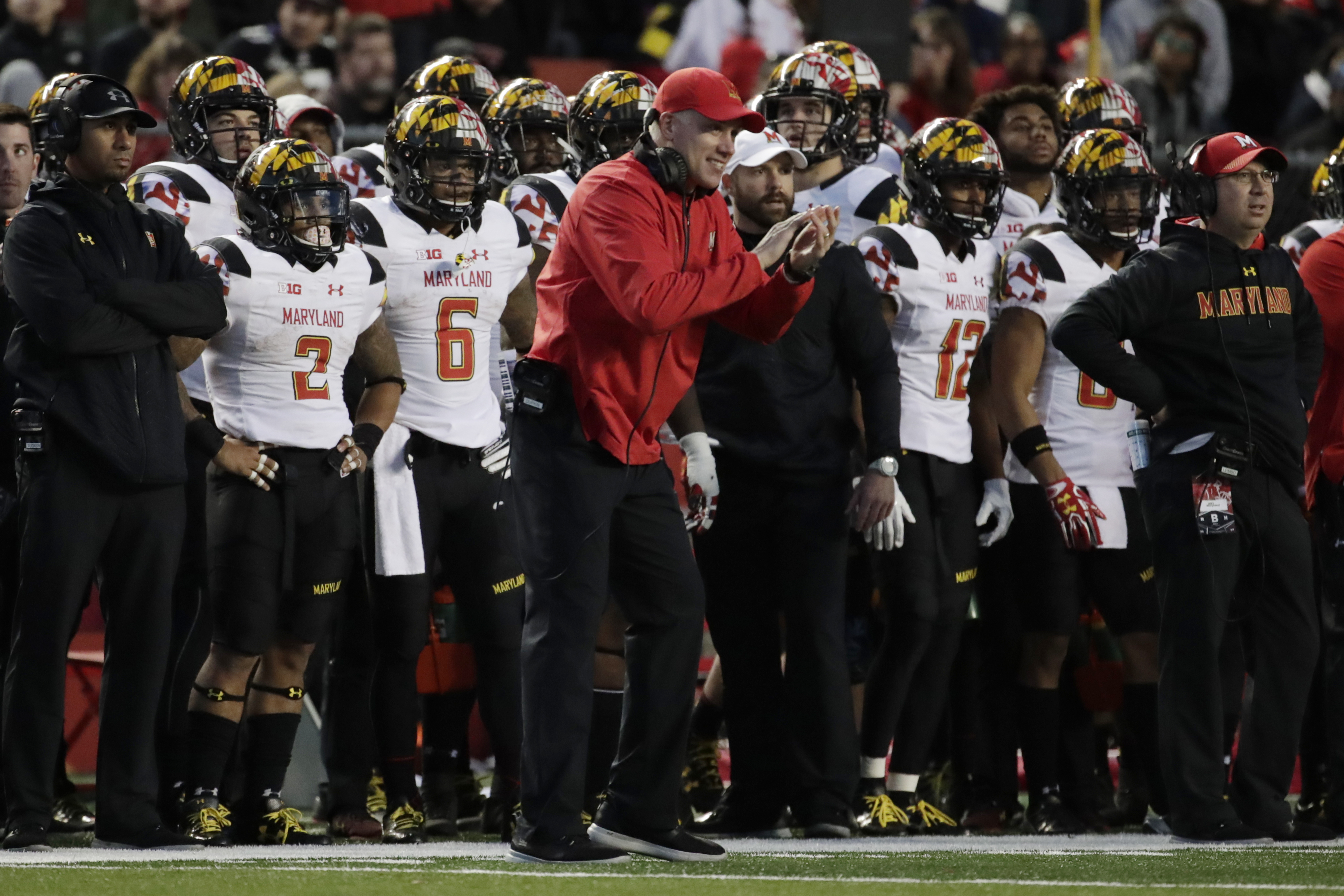 DJ Durkin has gone 10-15 in his two years as head coach at Maryland -- a win total that might not be enough for a school that paid $50 million to exit the ACC and enter the Big Ten.