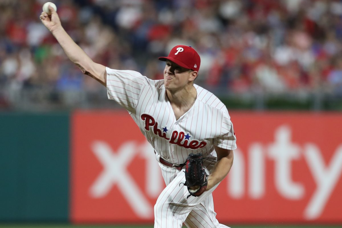 Phillies righthander Nick Pivetta allowed just one run on three hits in six innings Tuesday night against the Boston Red Sox.