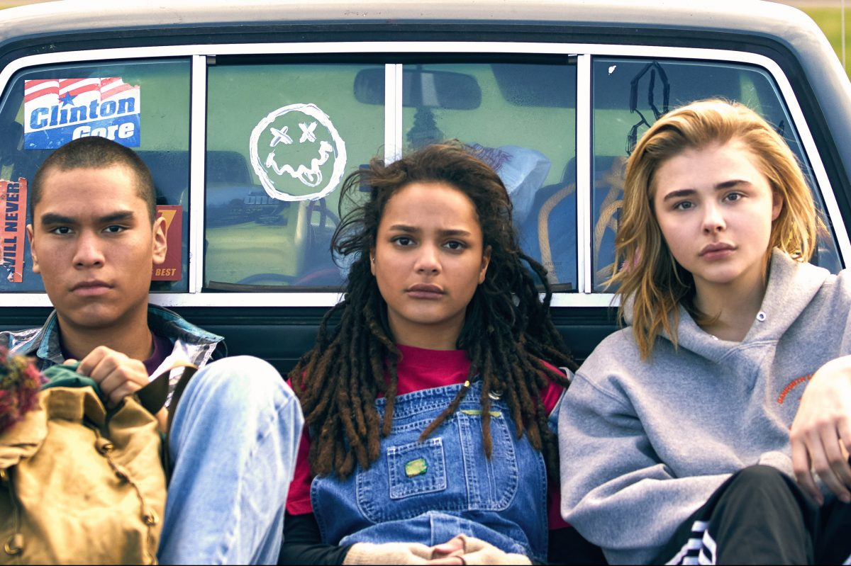 , Forrest Goodluck, Sasha Jane and Chloe Grace Moretz in ';The Miseducation of Cameron Post.'