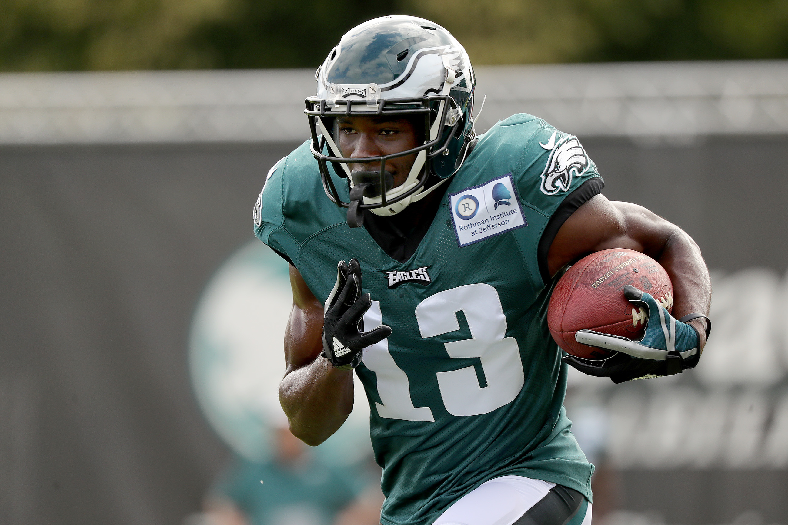 Nelson Agholor likely will miss the entire preseason.