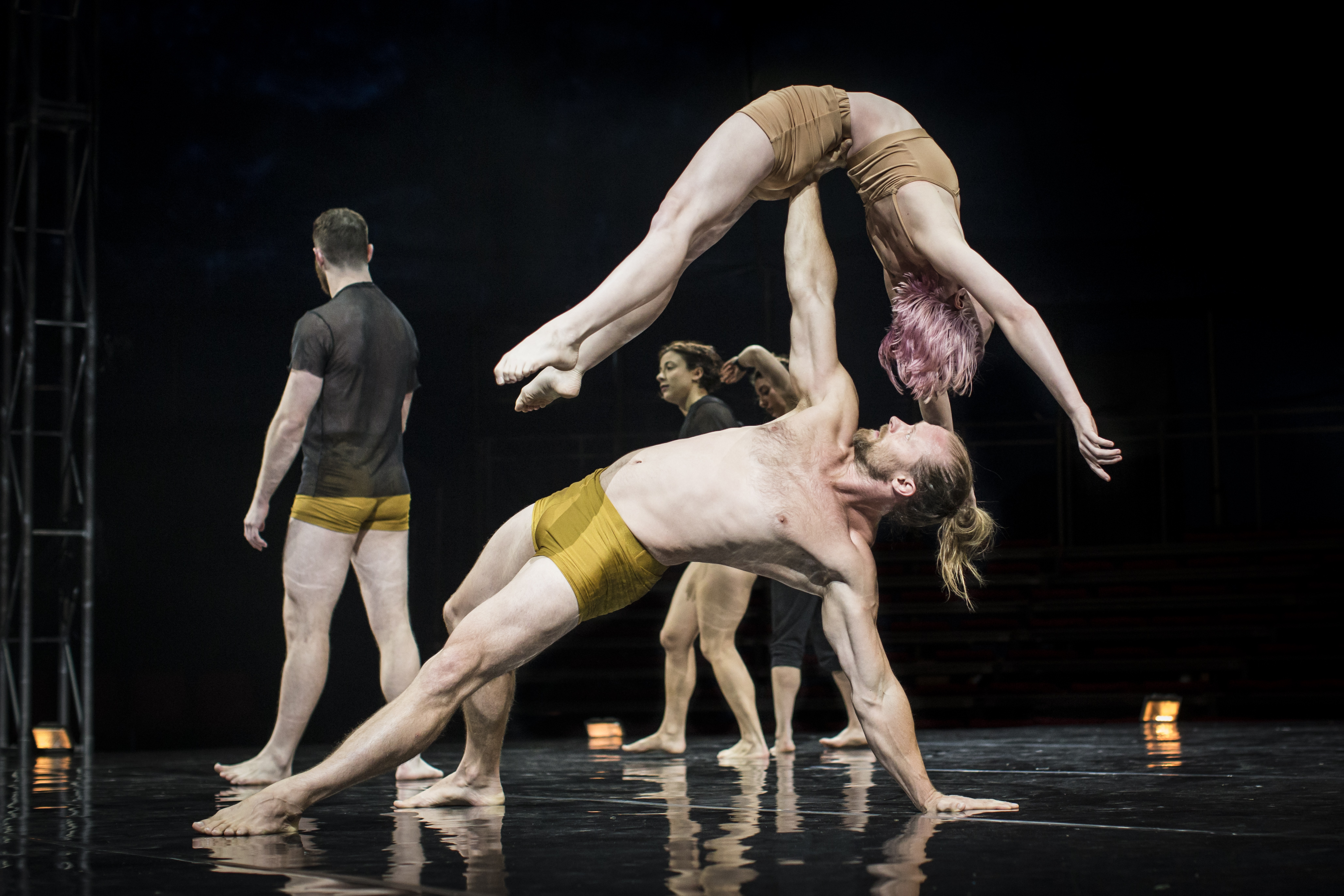 """The dance troupe Circa will perform """"Humans"""" at the Annenberg."""