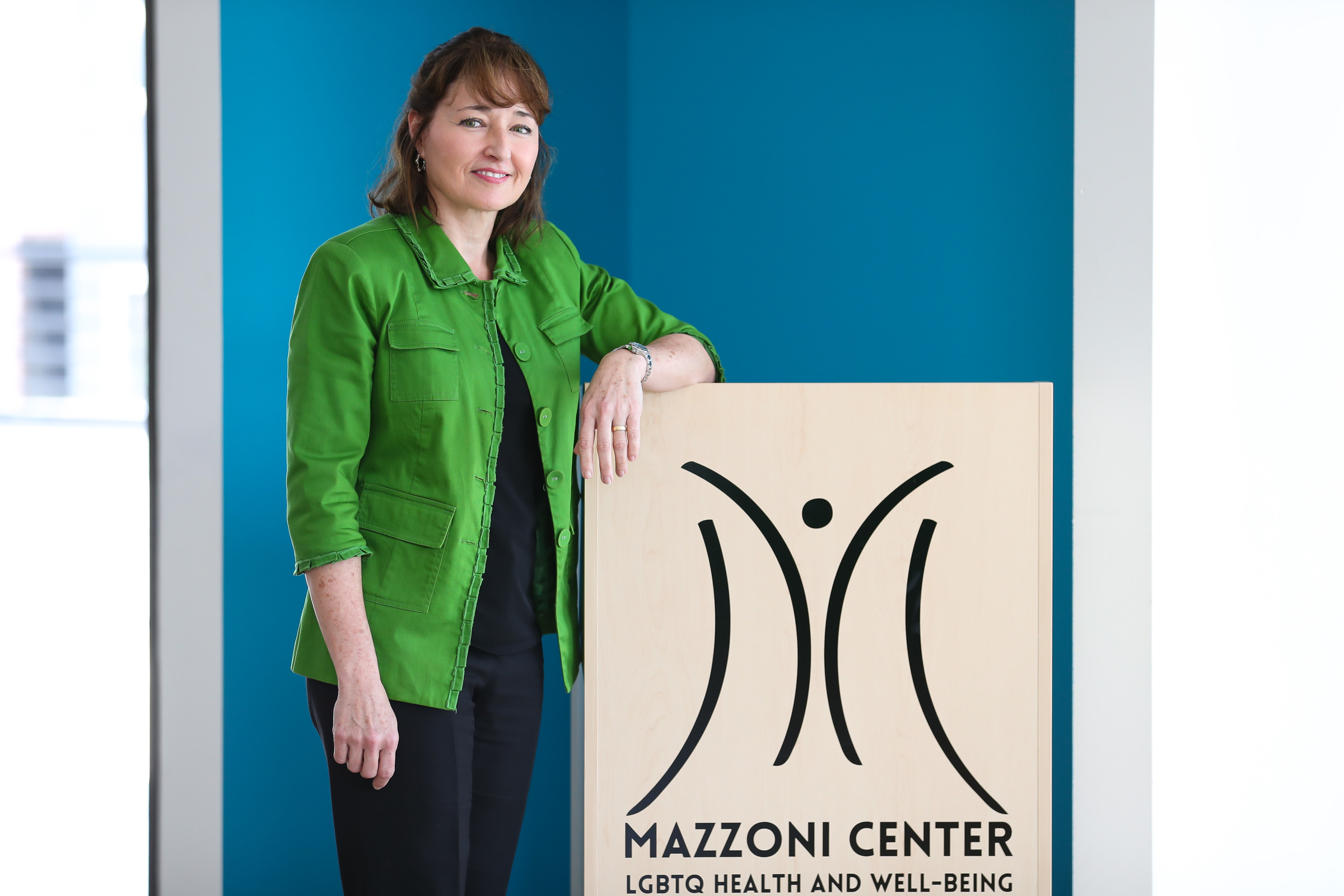Lydia Gonzalez Sciarrino is pictured at Mazzoni´s headquarters on May 25.