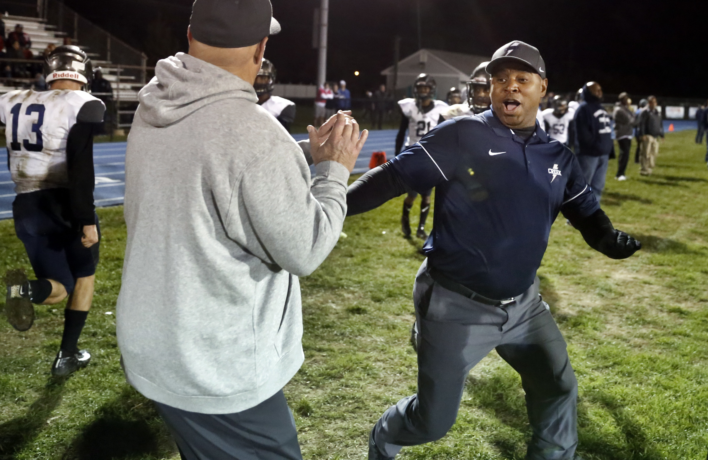 Timber Creek head coach Rob Hinson has a 103-32 record in 12 seasons with the Chargers.