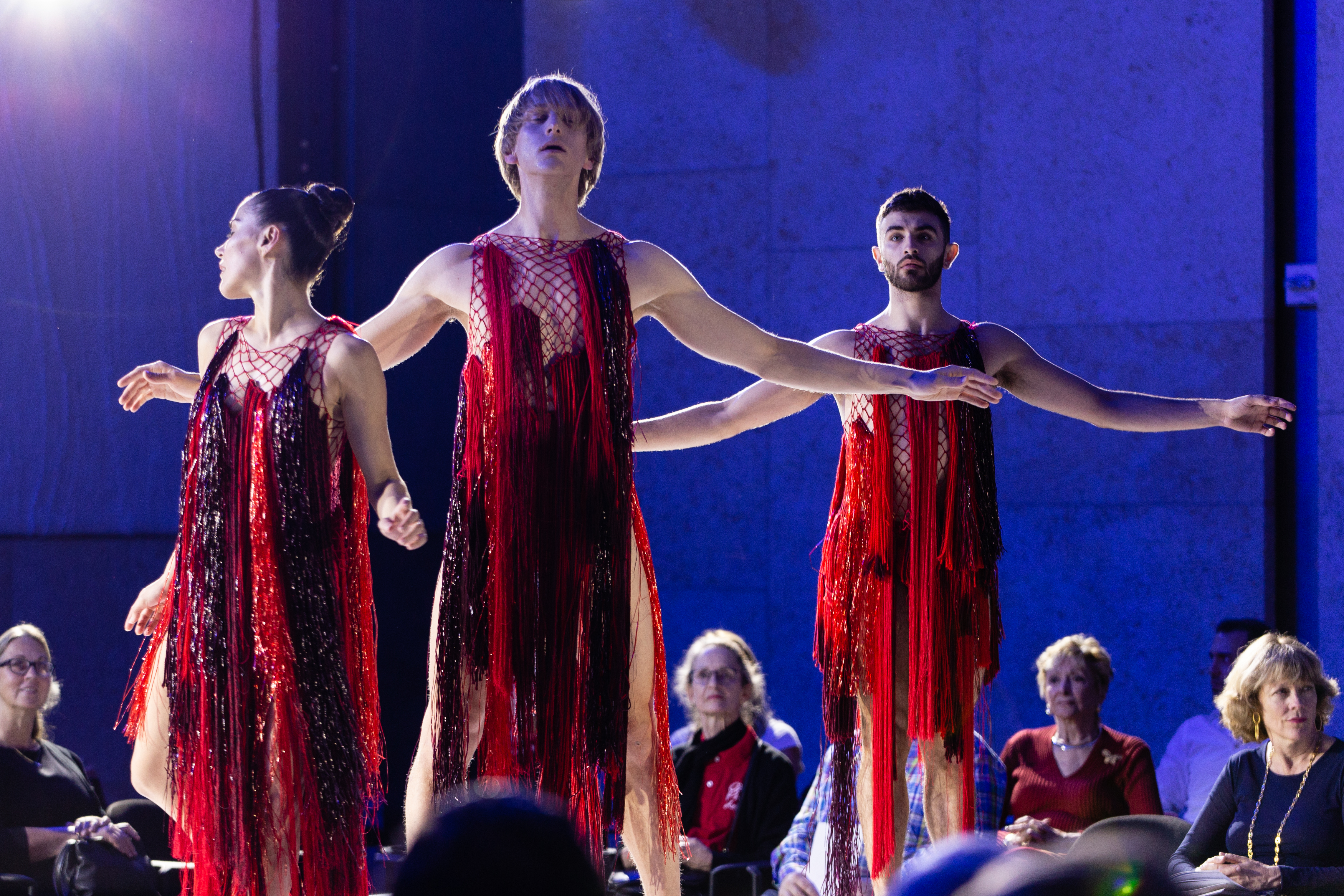 Dancers Patricia Delgado, David Hallberg, and Ricky Ubeda in Glass Handel