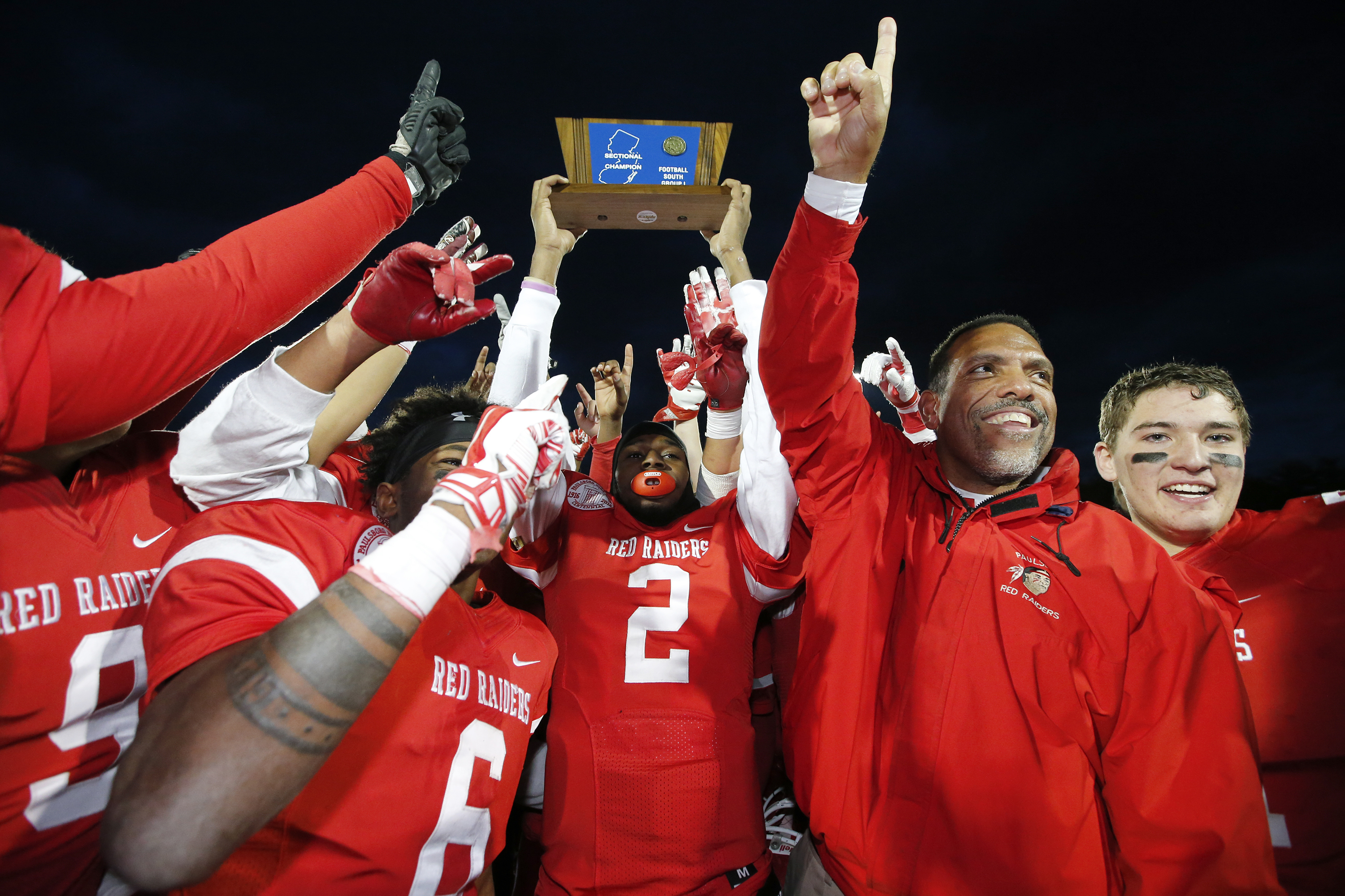 Paulsboro coach Glenn Hoard (right) is no fan of the new playoff system.