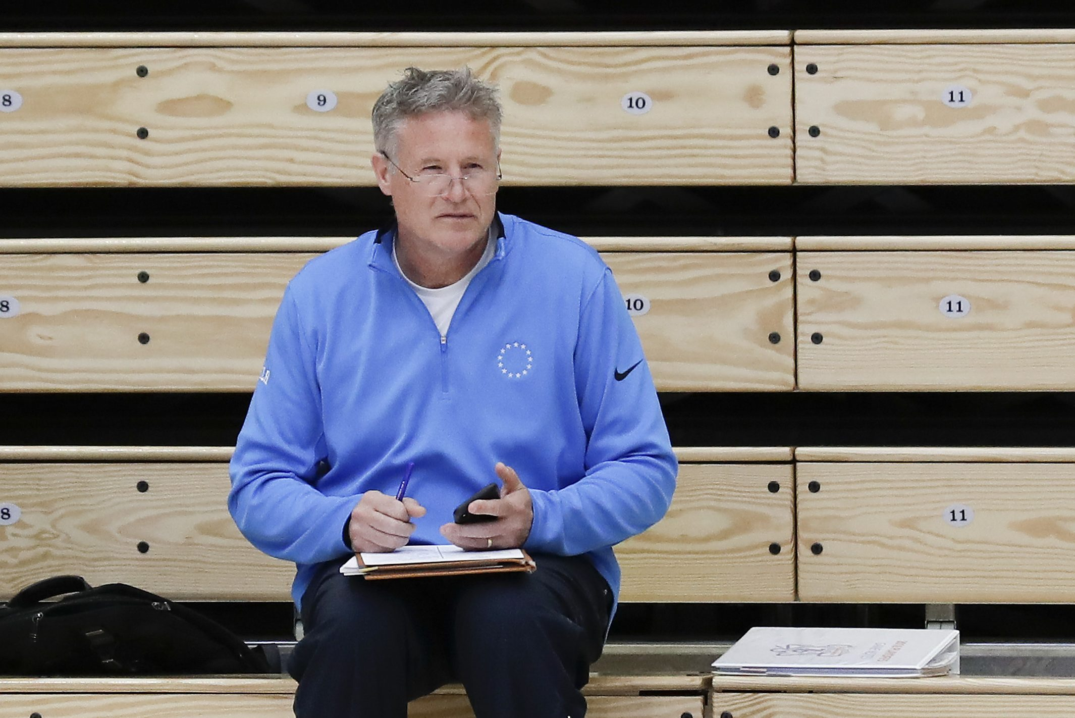76ers head coach and interim general manager Brett Brown.