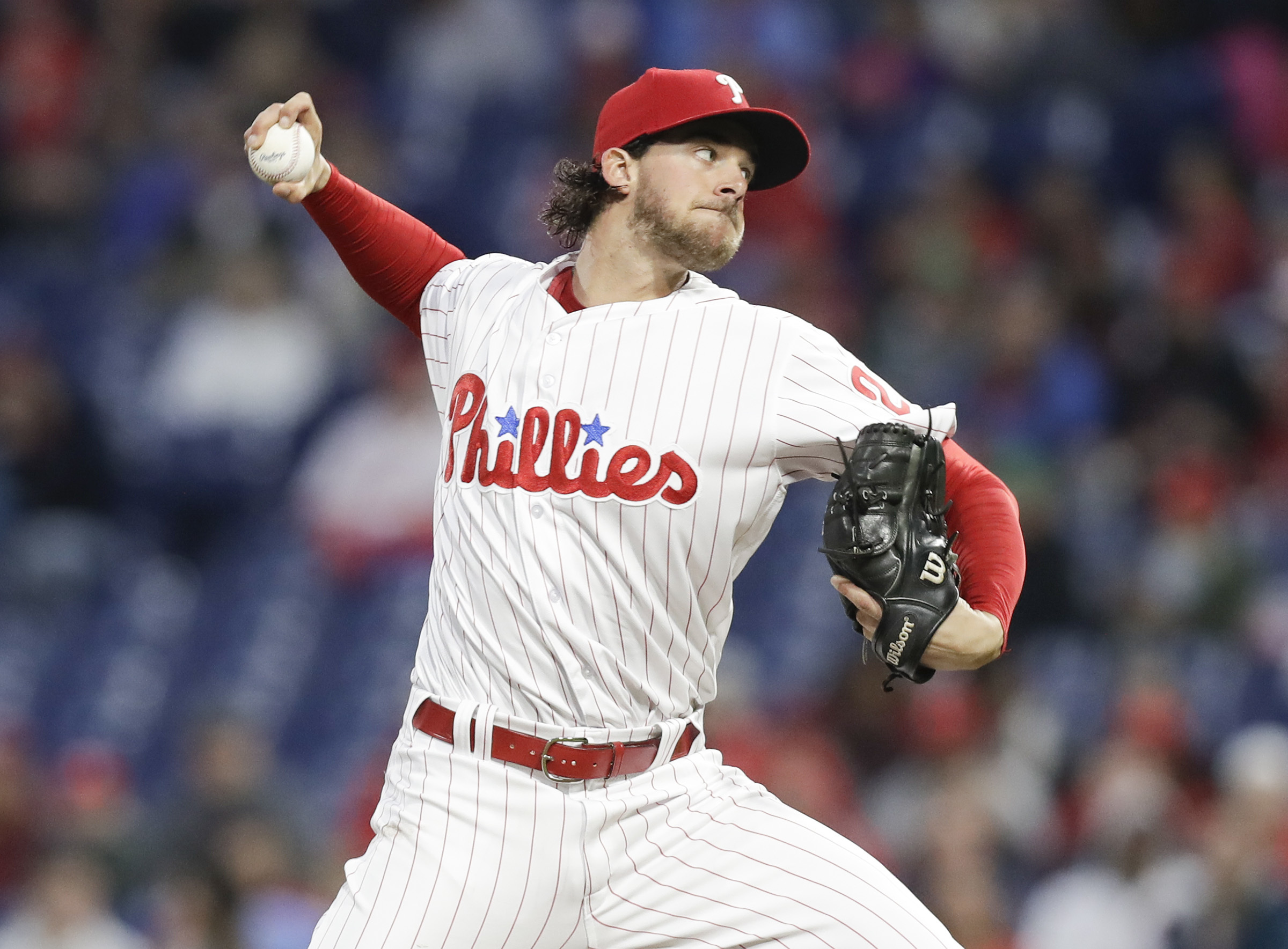 Phillies pitcher Aaron Nola ranks as the best player from the 2014 MLB draft.