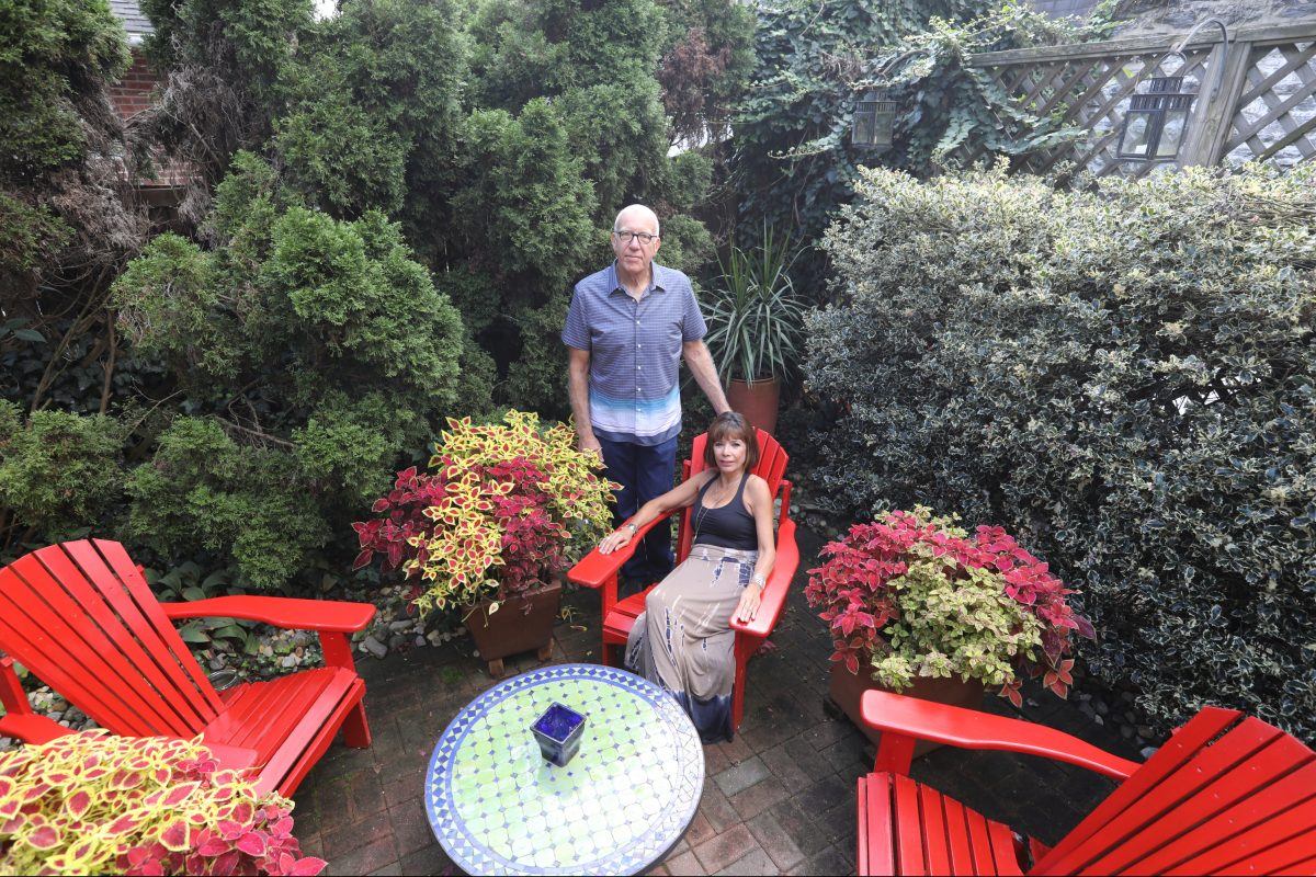 """Ed Ruback and Judith Lopez wanted a larger dining room to entertain, so they bought a 1904 Craftman-style home in East Falls.  """"We got the dining room,"""" Ruback quips, """"and the 12 extra rooms that came with it."""""""