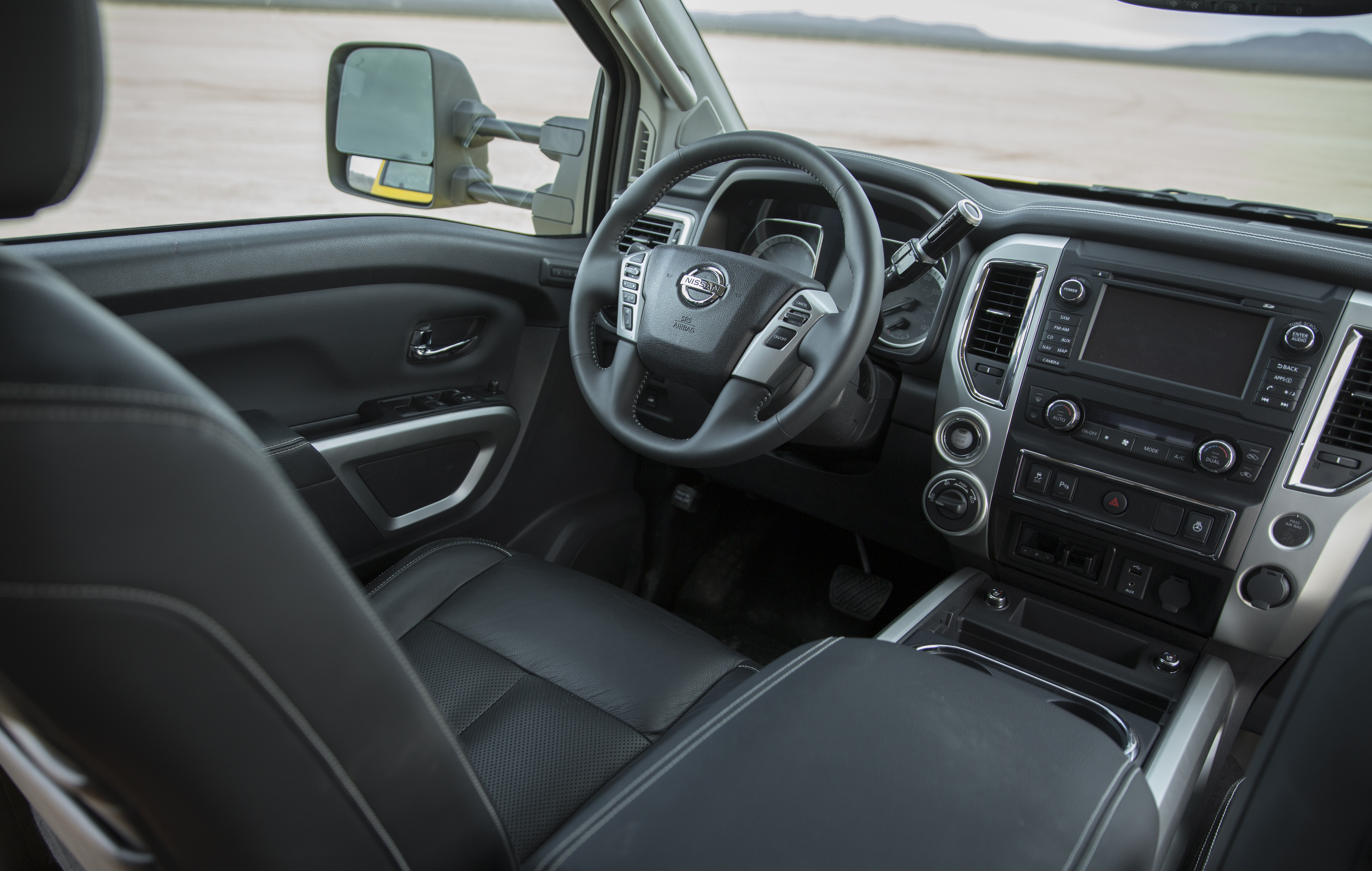 The 2017 Nissan TITAN XD Crew Cab is available in five well-equipped trim levels – S, SV, PRO-4X, SL and Platinum Reserve. All are offered with a choice of 4x2 or 4x4 drive configurations, except for the PRO-4X model, which is available exclusively as a 4x4.