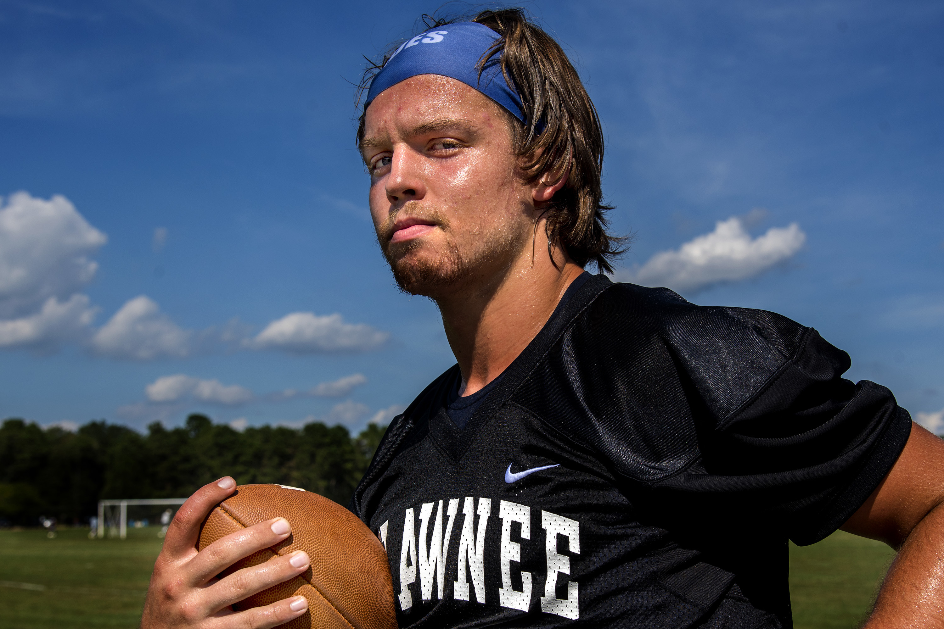 Shawnee´s Joe Dalsey is a versatile athlete who has played several positions during the course of his career.