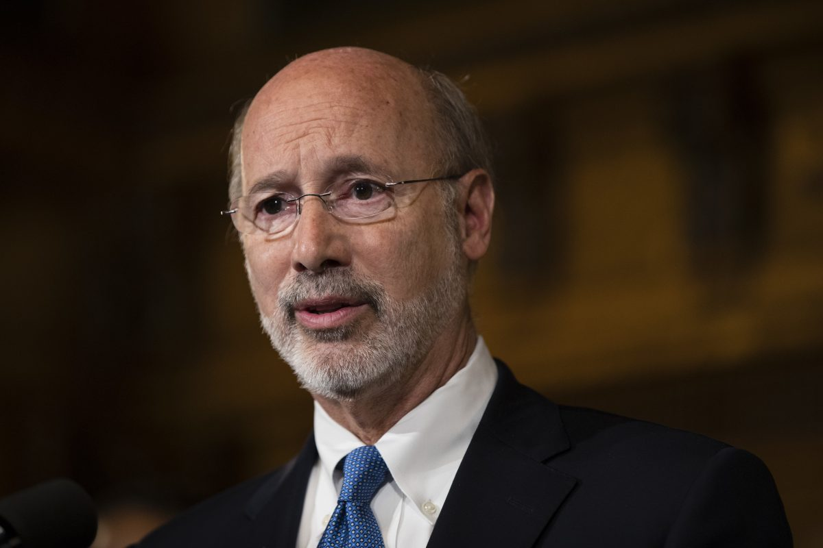 Gov. Wolf said budget negotiators are close to striking a deal on a revenue package to fund the nearly $32 billion spending plan that is now law.