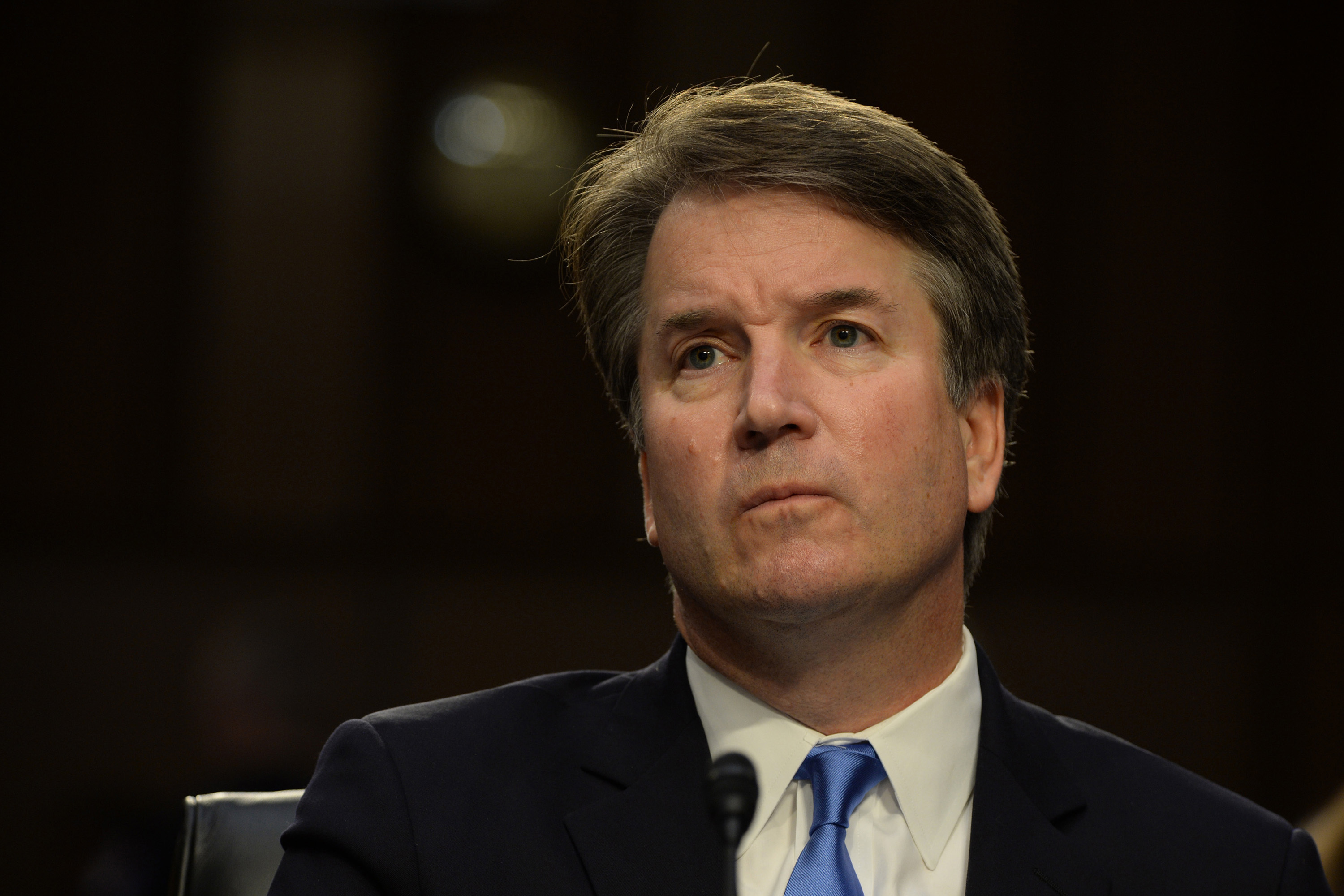 Supreme Court Associate Justice nominee Brett Kavanaugh at his confirmation hearing before the Senate Judiciary Committee in the Hart Senate Office Building in Washington, D.C., on Wednesday, Sept. 5, 2018.
