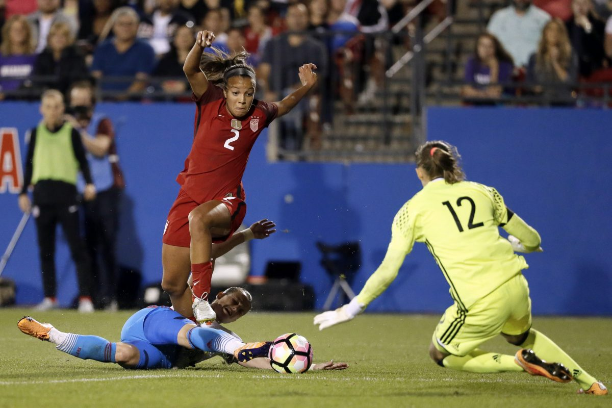 Less than a year since graduating from high school in Colorado, United States women's national soccer team rising star Mallory Pugh has crashed convention by turning pro before ever playing a college game.