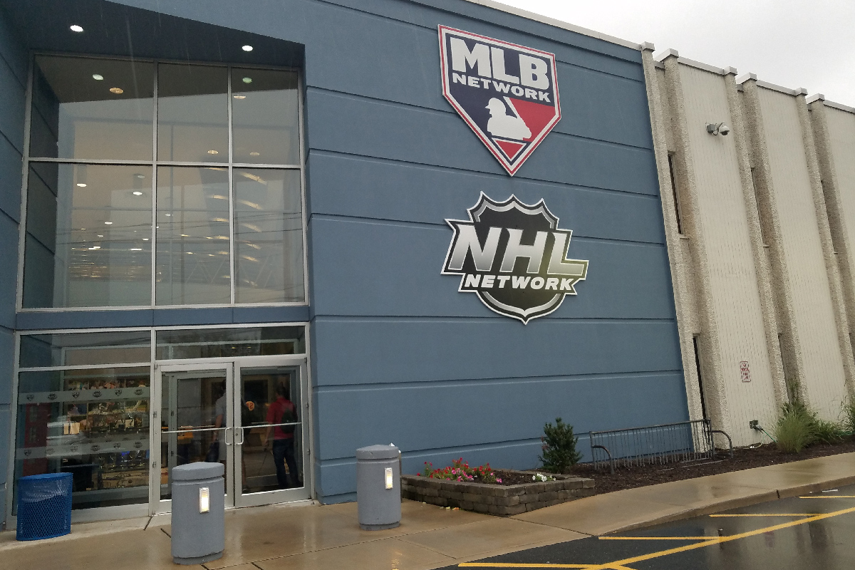 MLB Network studios in Secaucus, N.J., which is also home to the NHL Studio.